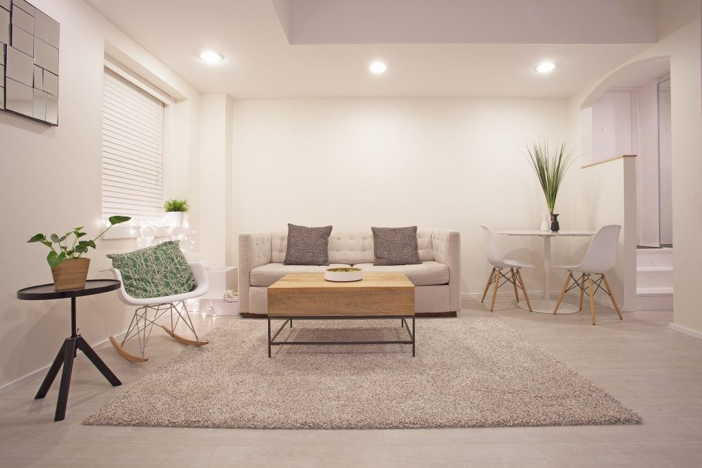 Minimalistic design to make a room look bigger