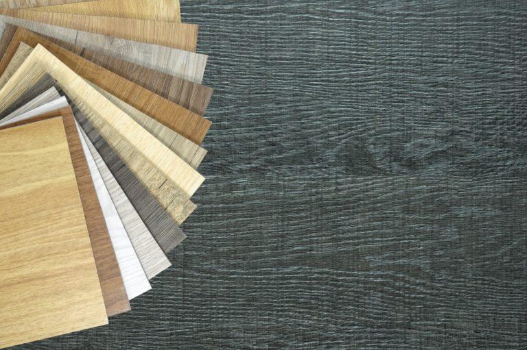 laminate and vinyl floor tiles