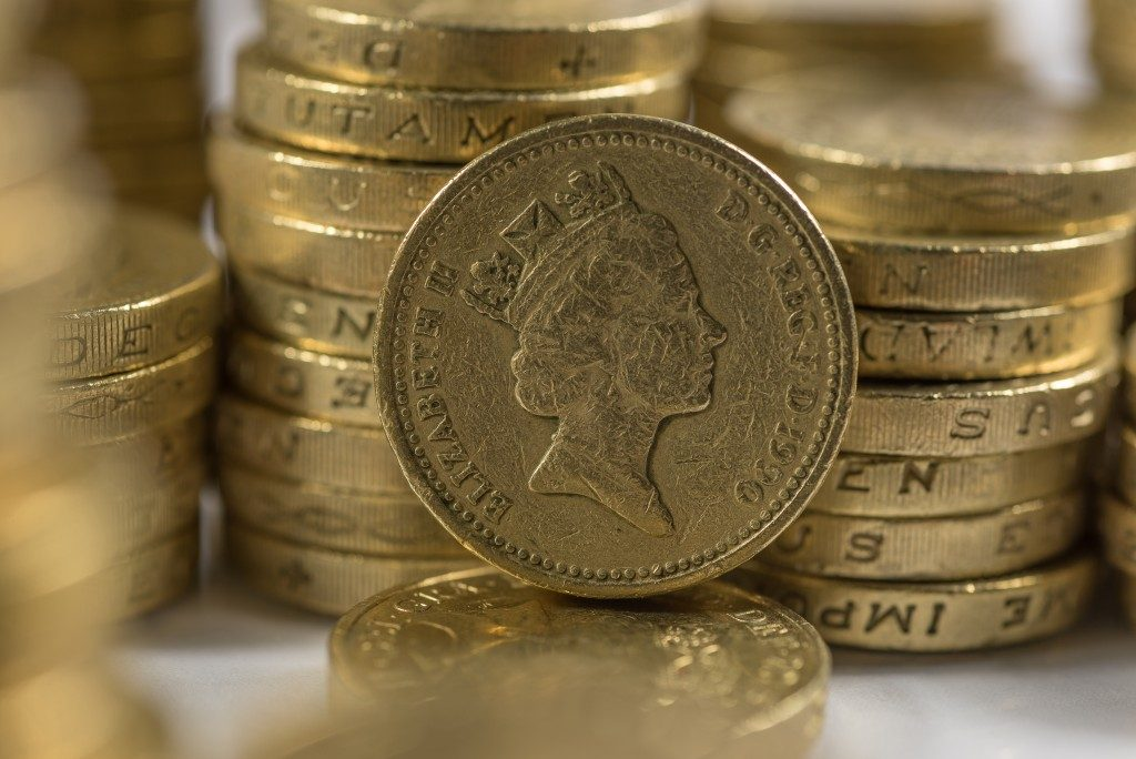 British pound coins