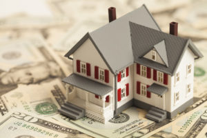 home on top of money