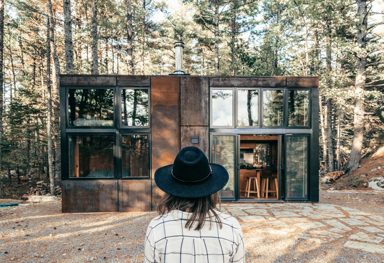 tiny home owner